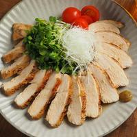 鶏むね肉でゆず鶏、リニューアルレシピ