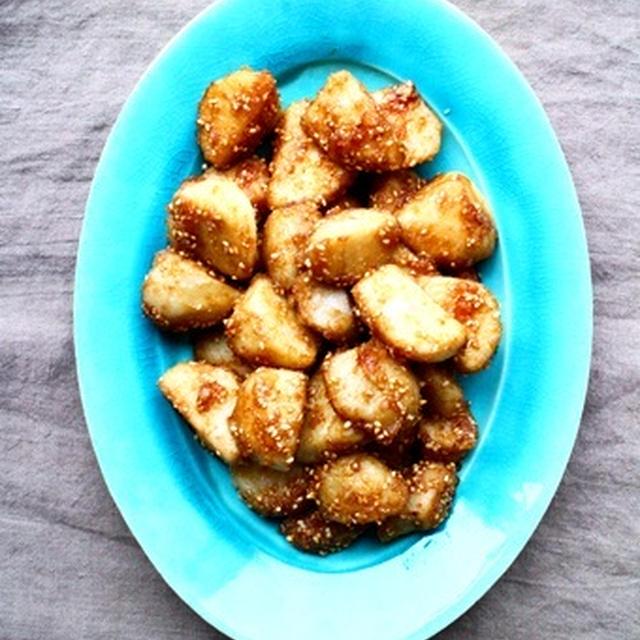 揚げ里芋の甘辛煮