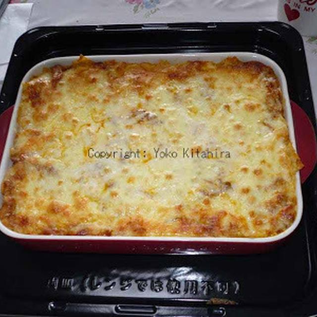 おもてなしレシピ~キャセロールで作るラザニア R#082
