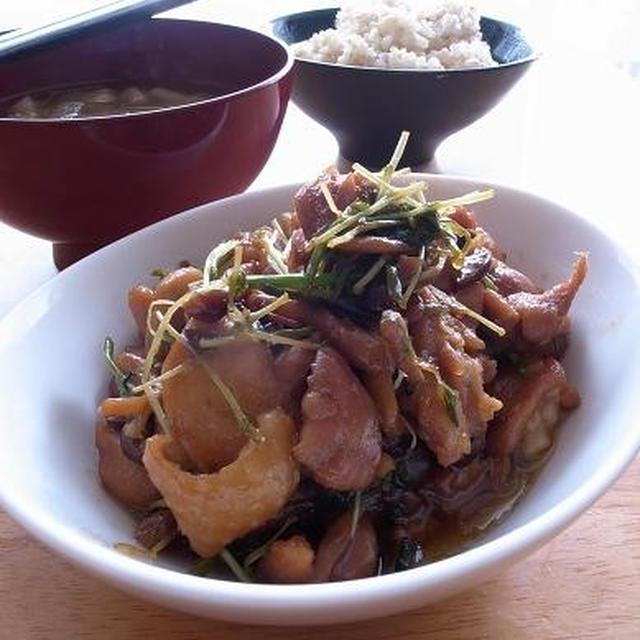 朝にありがとう。鶏の照り焼き煮|8月19日(日)は、逗子でパパ料理教室開催。