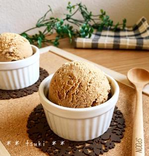 案外簡単♪自家製カフェオレアイスクリーム♪♪