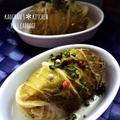 ジュワ~と美味しい♪コンソメ味のロール白菜。