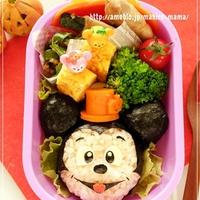 ハロウィン帽子のミッキーマウス*キャラ弁