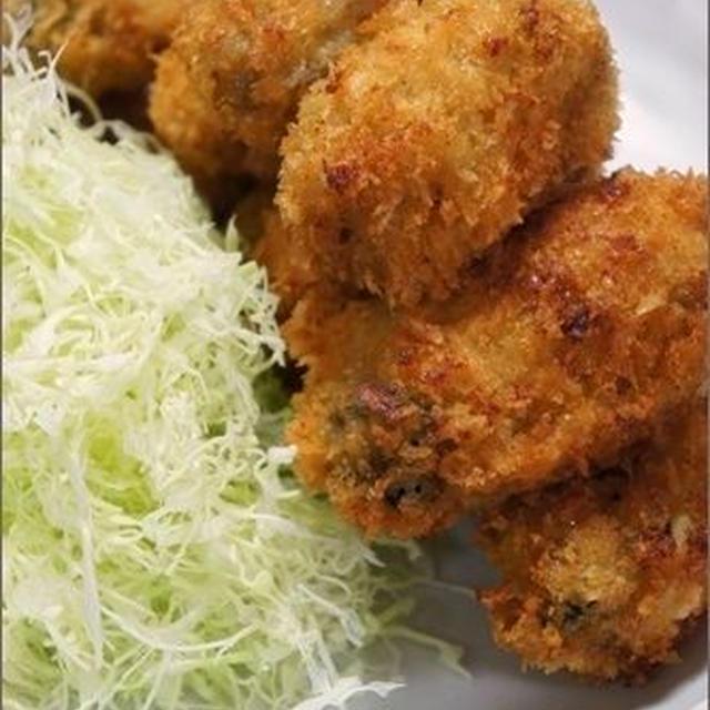 牡蠣フライレシピ(冷凍牡蠣をおいしく食べる!)