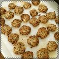 黒ごまごぼうクッキー 小麦使用 卵乳なし アレルギー対応クッキー