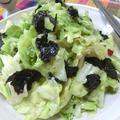 包丁いらず☆ 無限にイケる♪ ちぎり春キャベツの韓国風サラダ