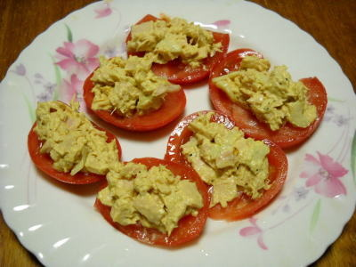 トマトのツナディップサラダ