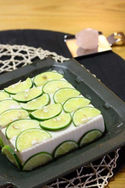最近のマイブーム♪ケーキみたいな「すだち豆腐」