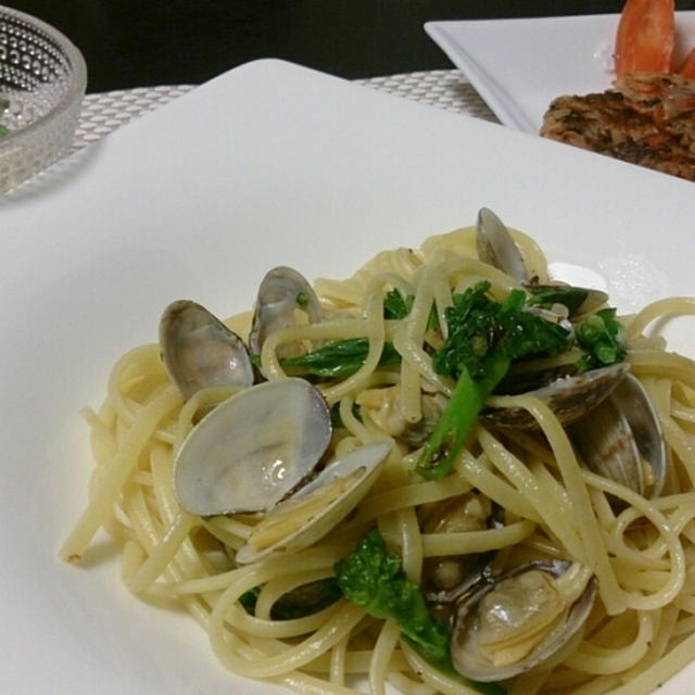 お夕飯◆春のペペロンチーノ
