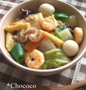 中華丼 レシピ
