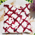 カッテージチーズとブルーベリージャムトースト☆シナモン風味