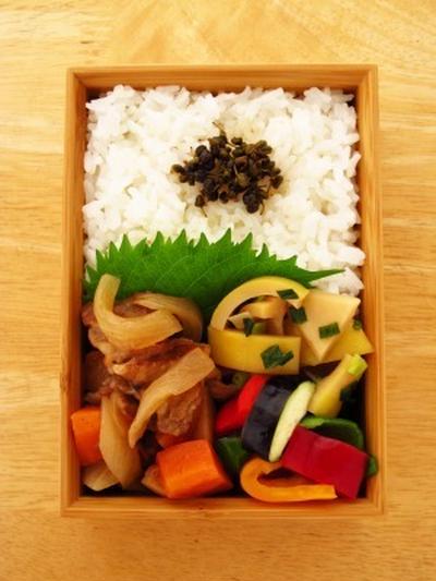 はちく竹の含め煮