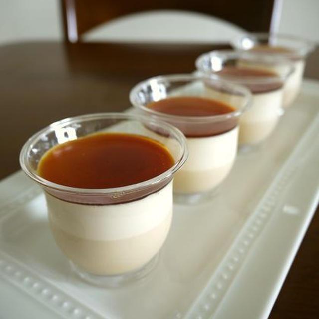 紅茶のババロア♪カラメルソース♪