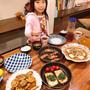 晩御飯は和食です!!