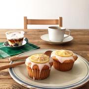 ナスの収穫【良い香り♪レモンと紅茶のマフィン】簡単