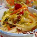 白菜の中華風甘酢漬け「辣白菜(ラーパイツァイ)」 by necoyaさん