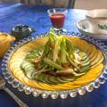 夏野菜のおめかしサラダ