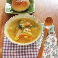 「1年の集大成!わたしのベストおだし料理」こまごま野菜お出しスープ