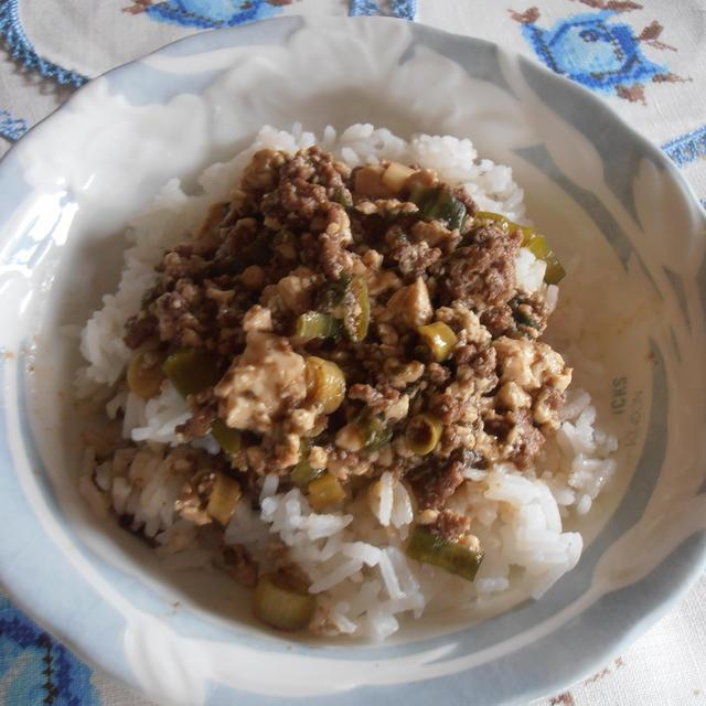 クリスマスで食べすぎた後のリセット 麻婆豆腐