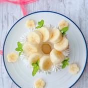 簡単☆甘さ控えめなバナナケーキ