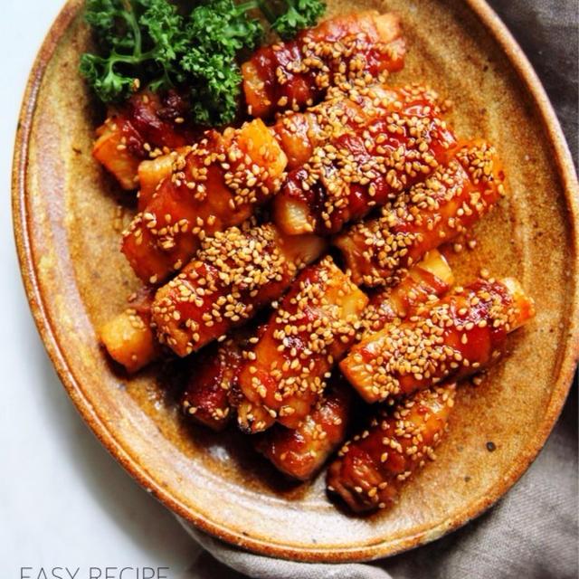 ♡ごはんがすすむ♡肉巻き長芋♡【#簡単#お弁当#作り置き】