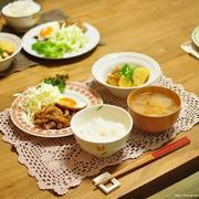 ≪レシピ≫豚のしょうが煮でカンタン晩ごはんと、パン田一郎との会話その2