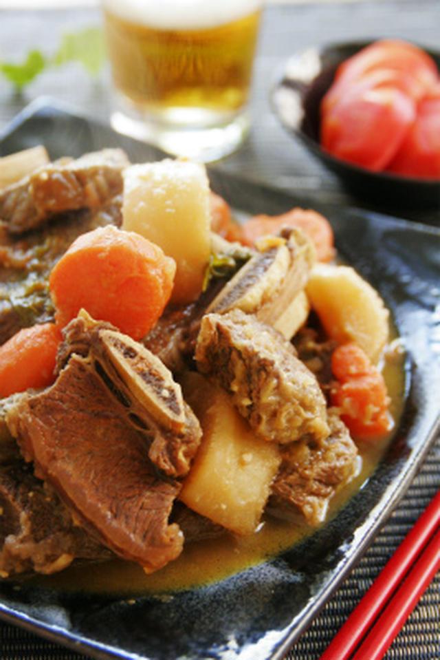 牛カルビの煮物 カルビチム