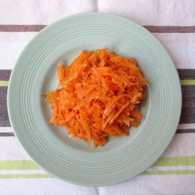 <イギリス料理・レシピ> ニンジンとポピーシードのサラダ【Carrot and Poppyseed Salad】