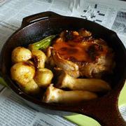 キャプスキでチキン・ステーキ+Hソース by Aranjuezさん