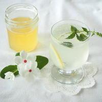 レモングラスとカルダモンのコーディアル。。。