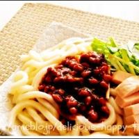 納豆ジャージャー麺 「新なっとうスタイル」