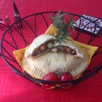 パンピザ『カルツォーネ』☆ハウス《パラッと旨炒めペースト》•『鶏ガラ塩こしょう味』を使って♪♪