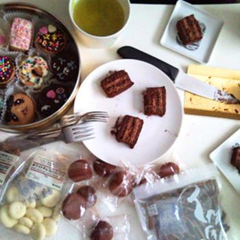 チョコの会&カムジャタンを食べてきた
