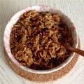 干ししいたけご飯(香茹油飯)