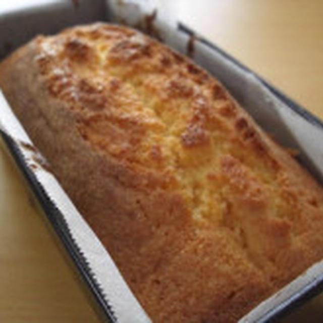別立てで作る プレーンなパウンドケーキ♪