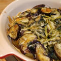 茄子とほうれん草カレー風味チーズ焼き
