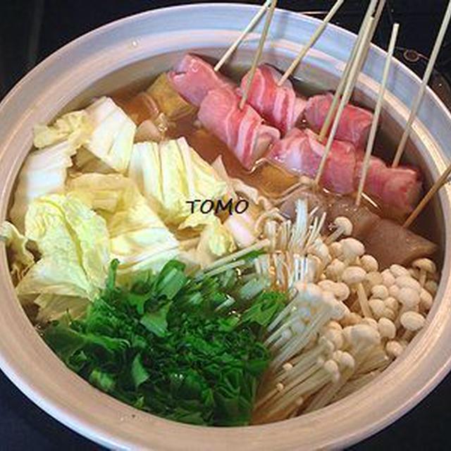 豚肉とネギの串鍋~味噌味~