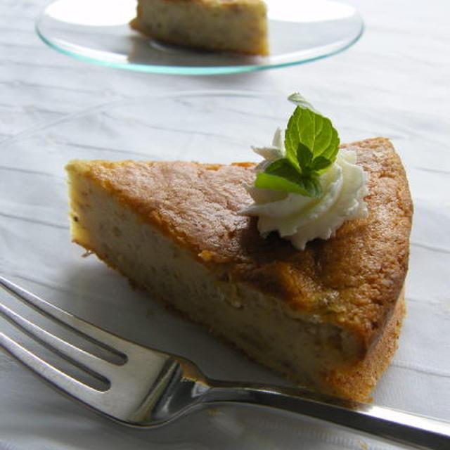 しっとりクリーミー♪バナナチーズケーキ