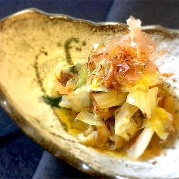 【お手軽副菜】キャベツの土佐煮