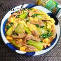 お弁当にも◎ご飯が進む♪豚肉とふんわり卵とチンゲン菜のとろみ中華炒め