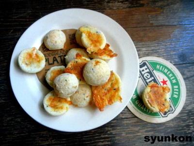 【簡単!!】焼くまで10分*白玉粉でカリもちポンデケージョと、よろこばレシピ