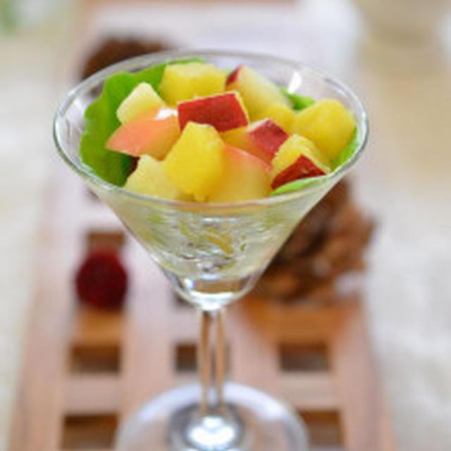 3つの食感を楽しむ♫さつま芋とリンゴのサラダ~✿