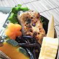 鰆のガーリックソテー炙り味噌チーズソース