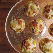 イチジクとさつま芋の蒸しパン