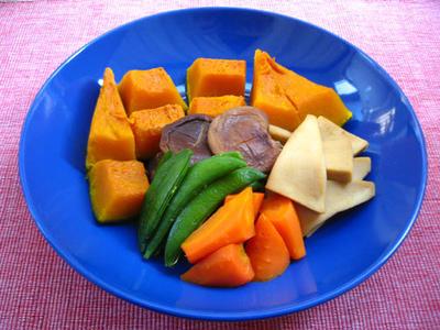 高野豆腐と野菜の煮物