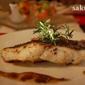 白身魚のおいしい香草焼き