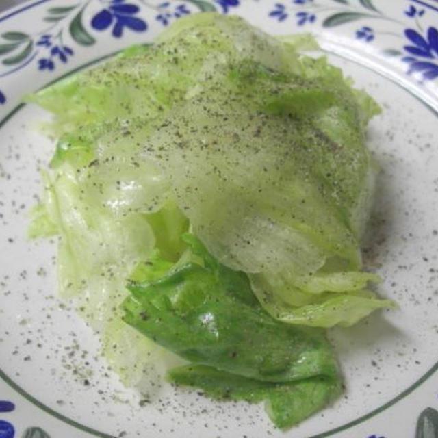 ライム風味のレタスサラダ