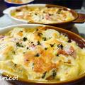 豆乳でヘルシー!ほっこり、里芋と厚揚げの和風グラタン by quericoさん