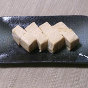漬けておくだけの簡単おつまみ☆豆腐の味噌漬け