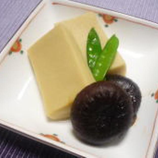おばあちゃんの思い出の味 「高野豆腐の含め煮」